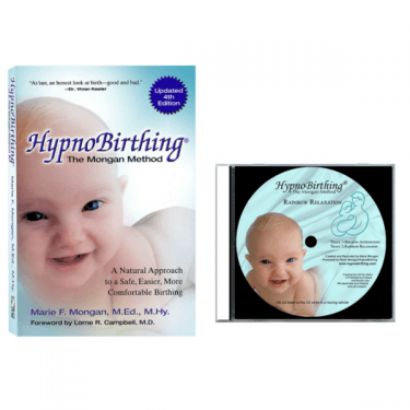 HypnoBirthing The Mongan Method Book & Rainbow Relaxation Audio